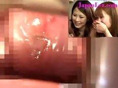 Hidden camera put in japanese lesbian vagina  free