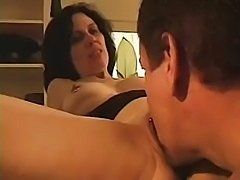 Middle-aged housewife thinks it is the right time for a fuck