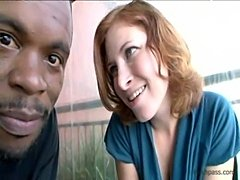 Big black dick in sexy Ginger Blaze