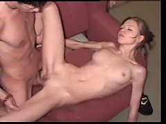 Sex with a young and skinny Ukranian girl