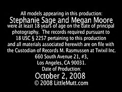 Stephanie Sage Megan Moore - LittleMutt
