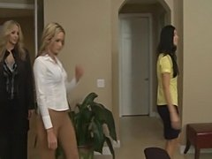 Julia Ann in lesbian action with Prinzzess