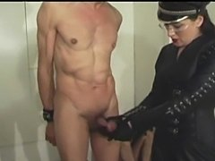Slave must earn points by being punished and humiliated by mistresses