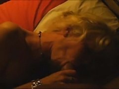 Dutch mature slut sucking and get a facial on the end