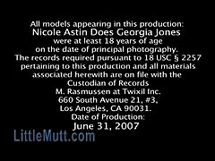 Nicole Astin Does Georgia Jones - LittleMutt