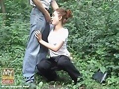 Homemade 18 Teen Daughter Anal Gangbang In Woods