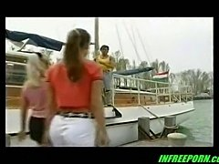 Two Hot Skinny Teens Fucking On Boat
